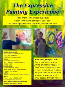 Expressive Painting-Nov 30