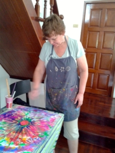 Intuitive Painting-Jan 25-BKK-Maryan - 4