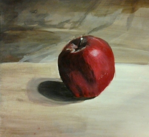 still life-apple