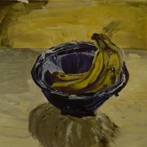 Still Life- Banana Bowl
