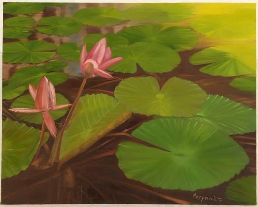 Lotus Pond, BKK